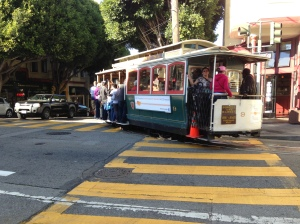 The famous cable-cars of SF